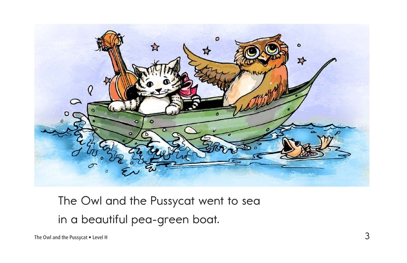 Book Preview For The Owl and the Pussycat Page 3