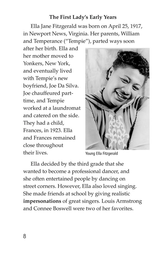 Book Preview For Ella Fitzgerald Page 8