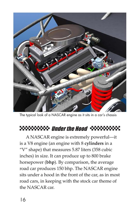 Book Preview For The World of NASCAR Page 16