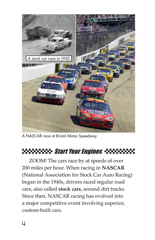 Book Preview For The World of NASCAR Page 4