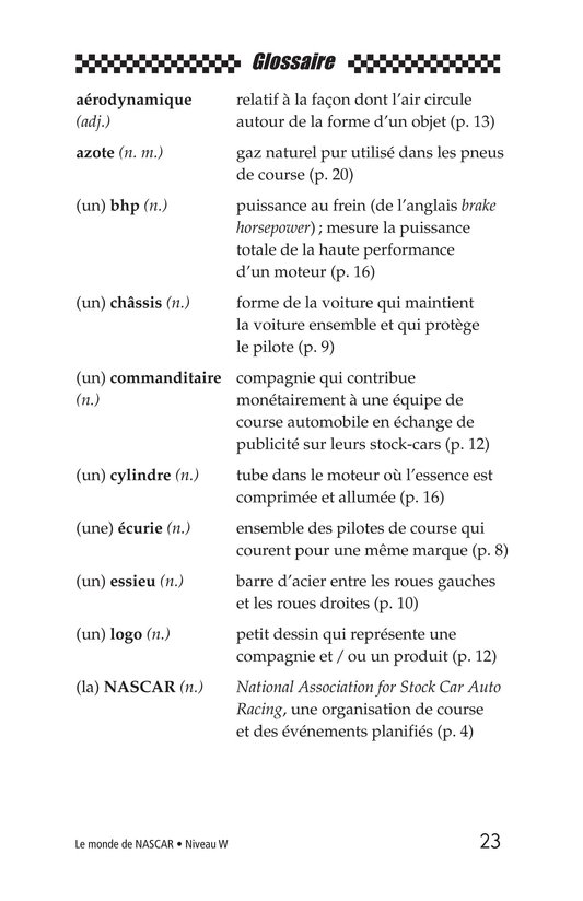 Book Preview For The World of NASCAR Page 23