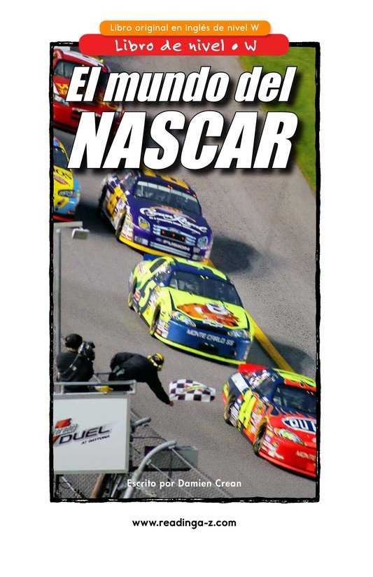 Book Preview For The World of NASCAR Page 1