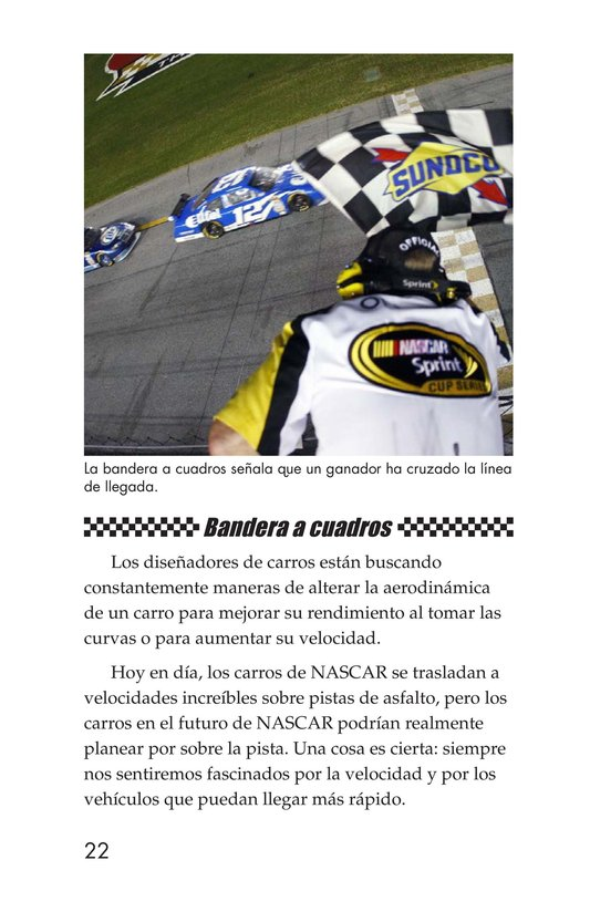 Book Preview For The World of NASCAR Page 22