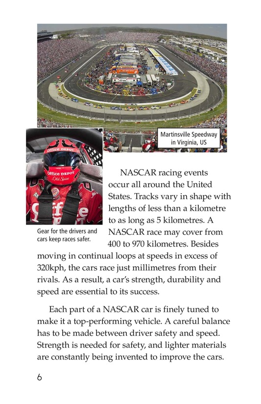 Book Preview For The World of NASCAR Page 6