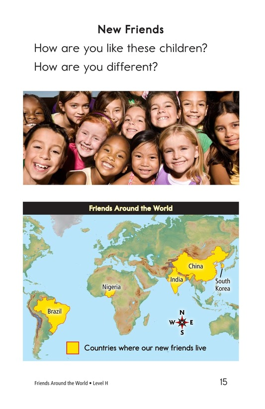 Book Preview For Friends Around the World Page 15