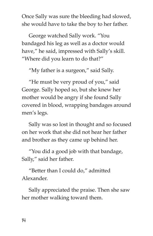 Book Preview For Sally's Secret Ambition Page 14