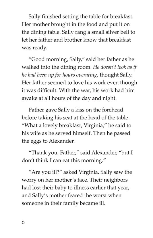 Book Preview For Sally's Secret Ambition Page 6