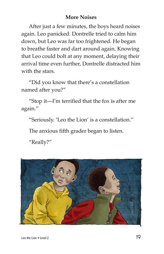 Book Preview For Leo the Lion Page 19