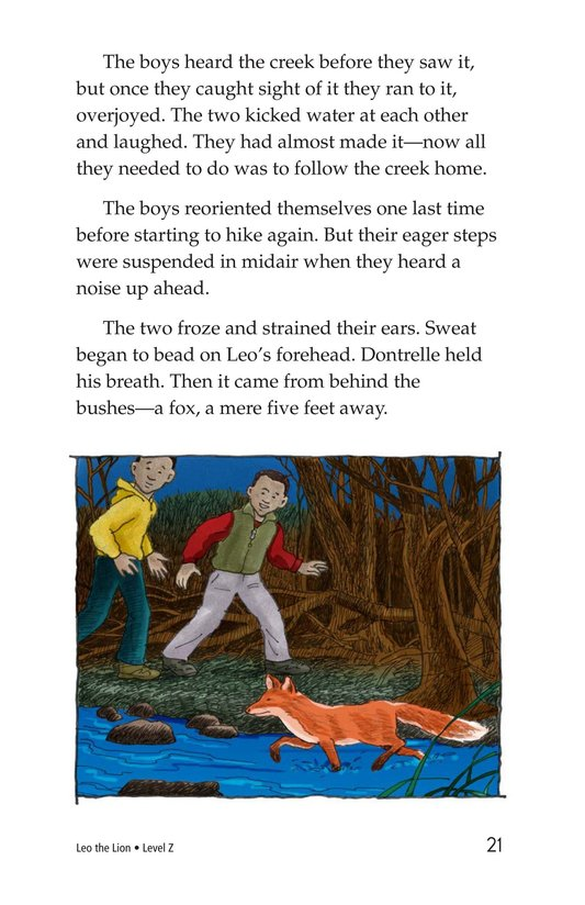 Book Preview For Leo the Lion Page 21