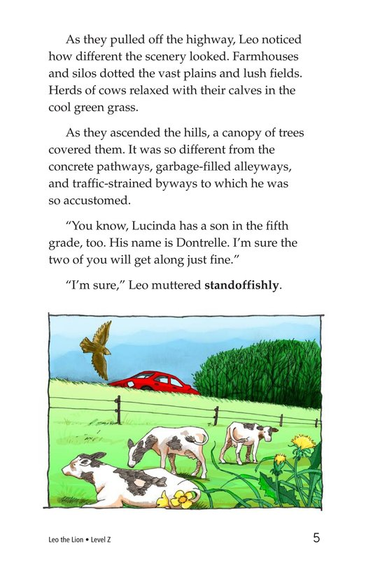 Book Preview For Leo the Lion Page 5