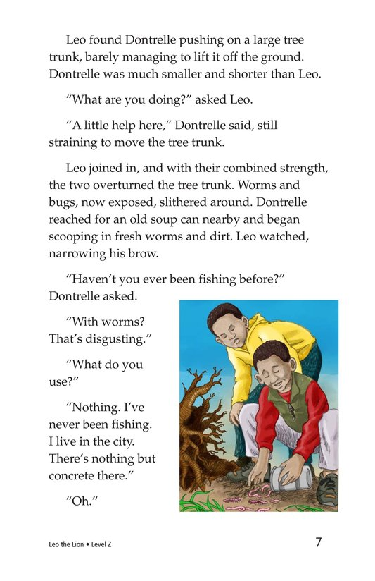 Book Preview For Leo the Lion Page 7