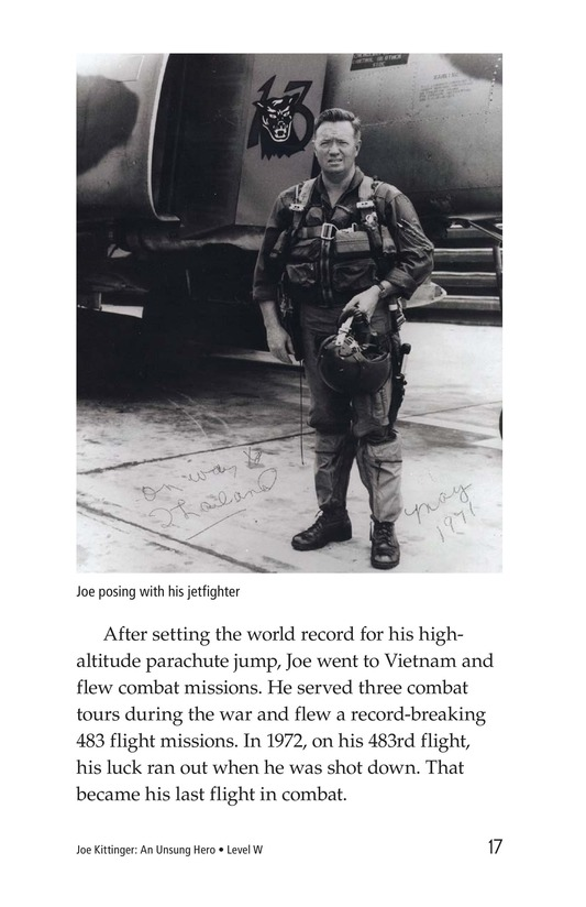 Book Preview For Joe Kittinger: An Unsung Hero Page 17