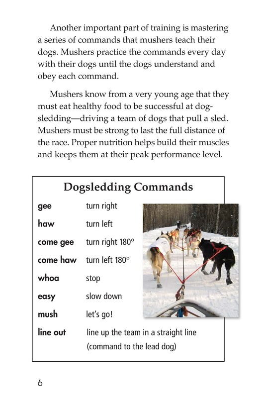 Book Preview For The Jr. Iditarod Page 6