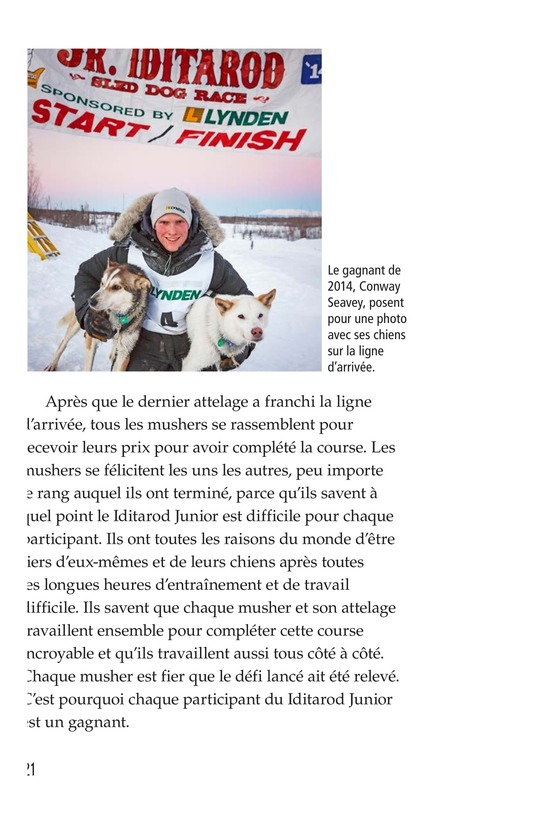 Book Preview For The Jr. Iditarod Page 21