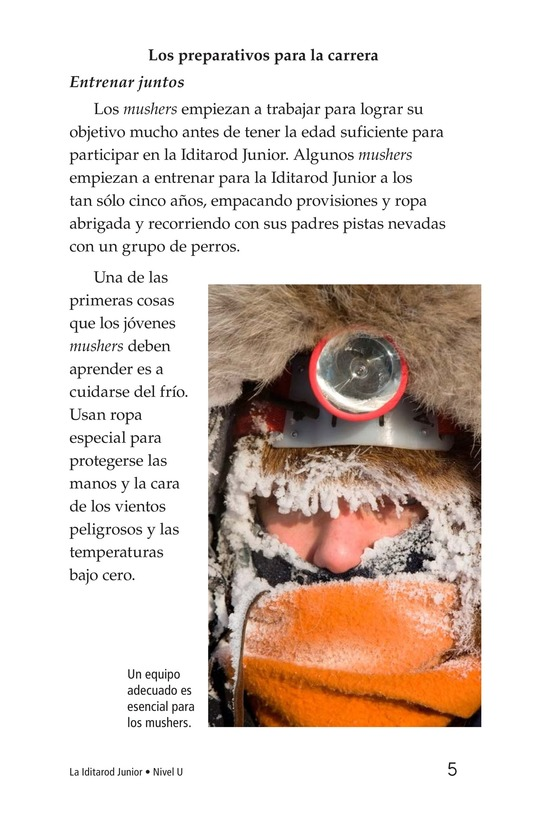 Book Preview For The Jr. Iditarod Page 5