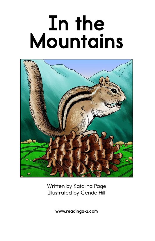 Book Preview For In the Mountains Page 2