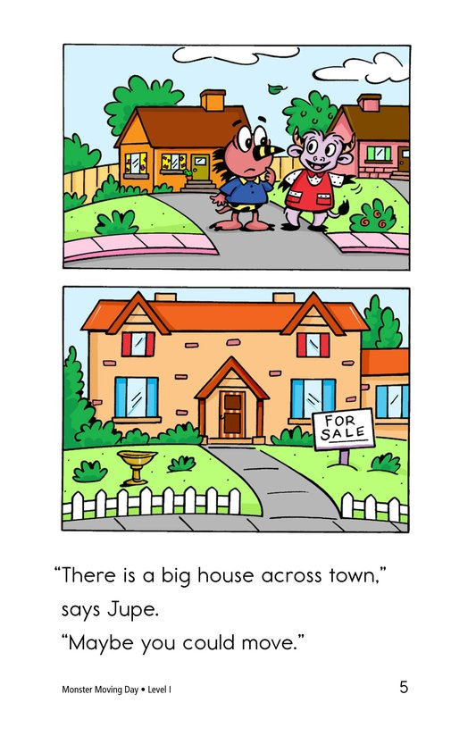 Book Preview For Monster Moving Day Page 5
