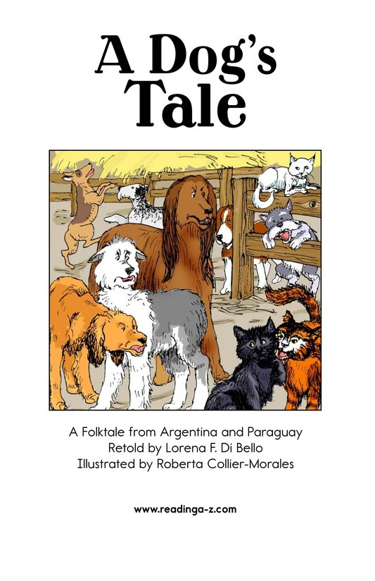 Book Preview For A Dog's Tale Page 2