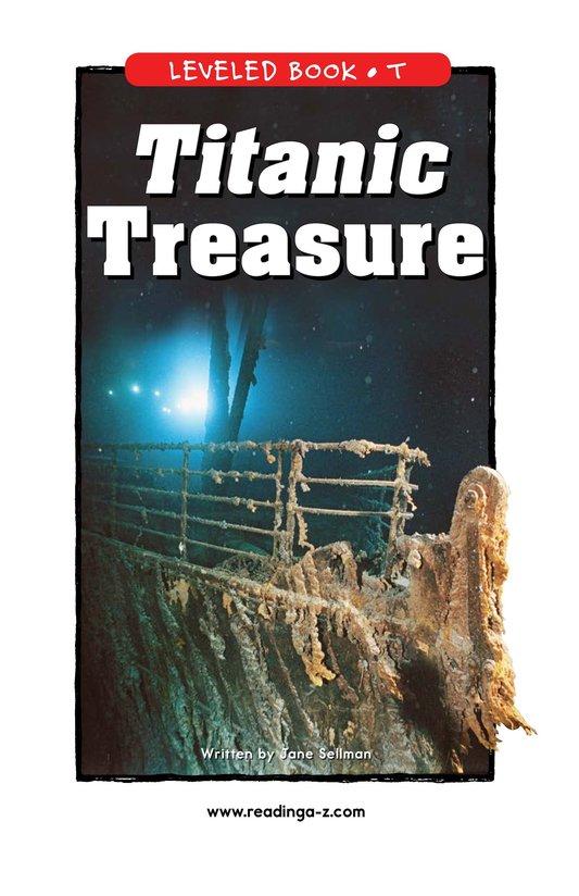 Book Preview For Titanic Treasure Page 1
