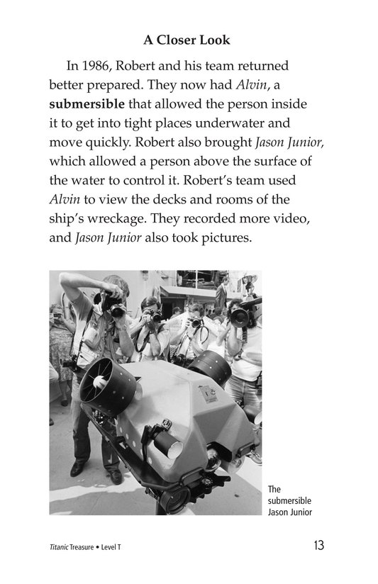 Book Preview For Titanic Treasure Page 13