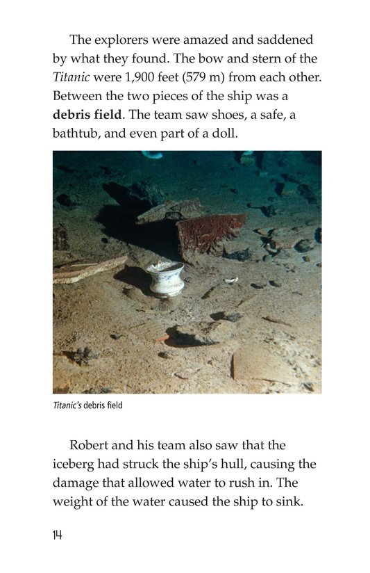 Book Preview For Titanic Treasure Page 14