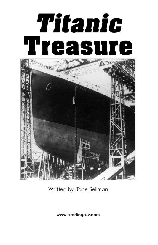 Book Preview For Titanic Treasure Page 2