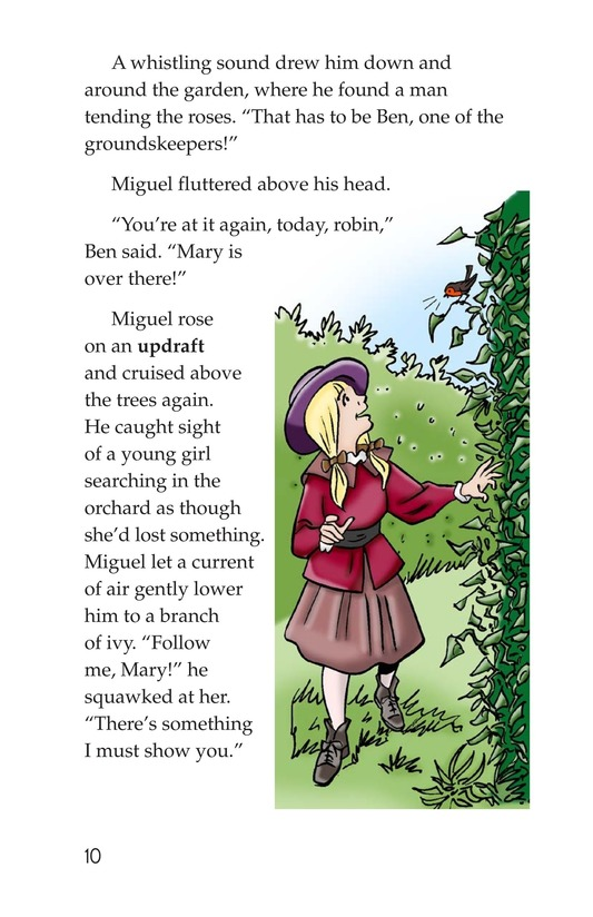Book Preview For Miguel in the Secret Garden Page 10