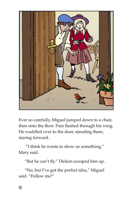 Book Preview For Miguel in the Secret Garden Page 18