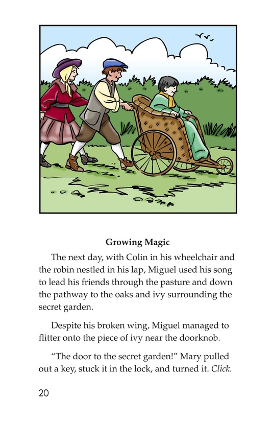 Book Preview For Miguel in the Secret Garden Page 20