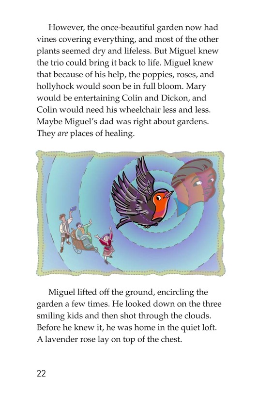 Book Preview For Miguel in the Secret Garden Page 22