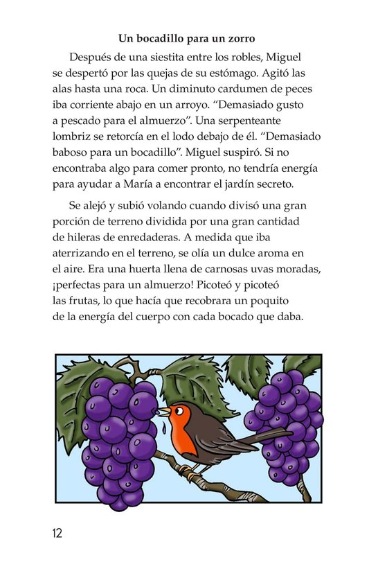 Book Preview For Miguel in the Secret Garden Page 12