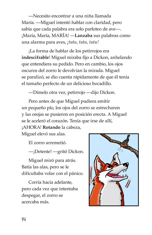 Book Preview For Miguel in the Secret Garden Page 14