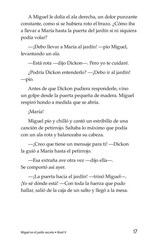 Book Preview For Miguel in the Secret Garden Page 17