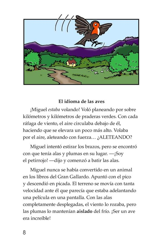 Book Preview For Miguel in the Secret Garden Page 8