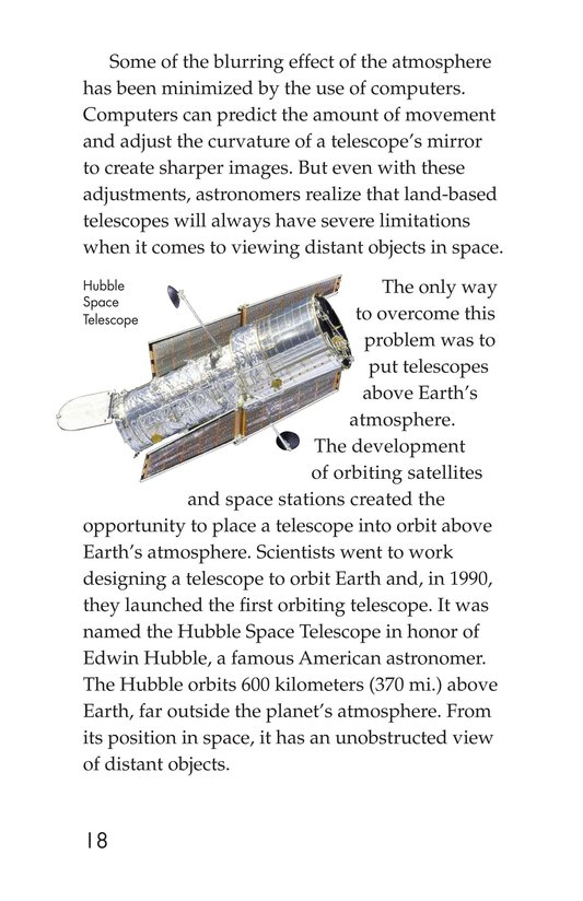Book Preview For Telescopes: Eyes on Space Page 18