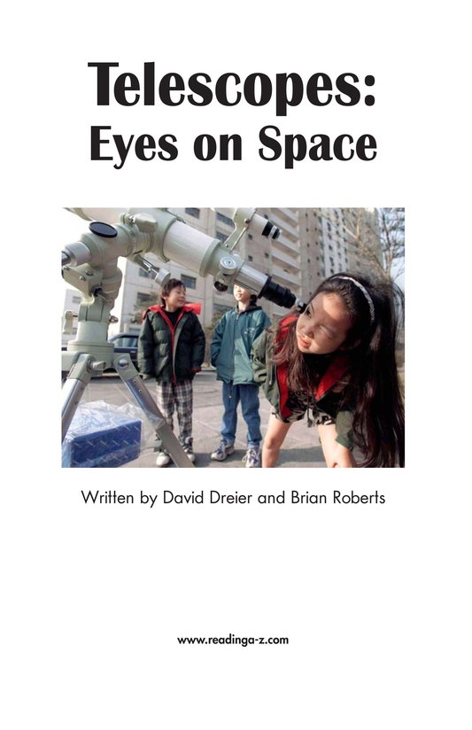 Book Preview For Telescopes: Eyes on Space Page 2