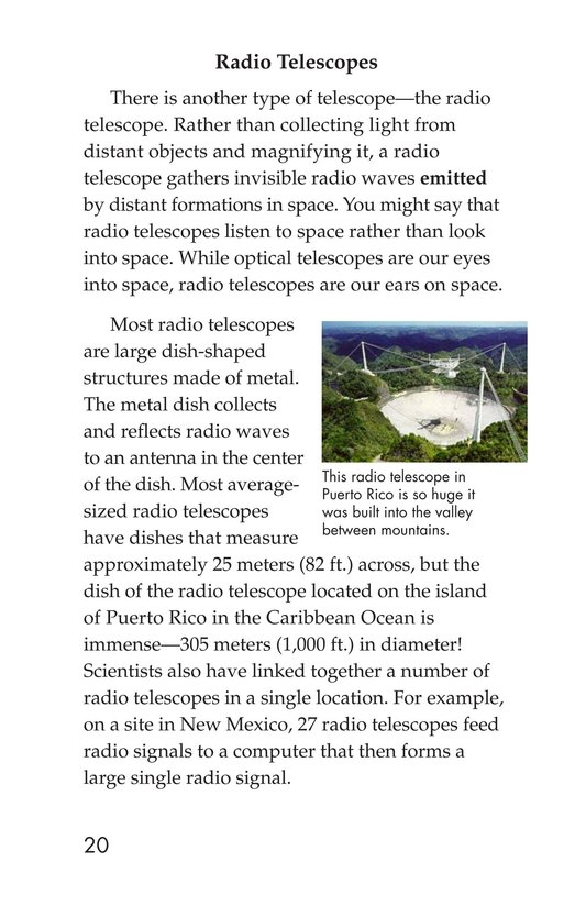 Book Preview For Telescopes: Eyes on Space Page 20