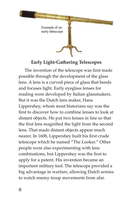 Book Preview For Telescopes: Eyes on Space Page 6