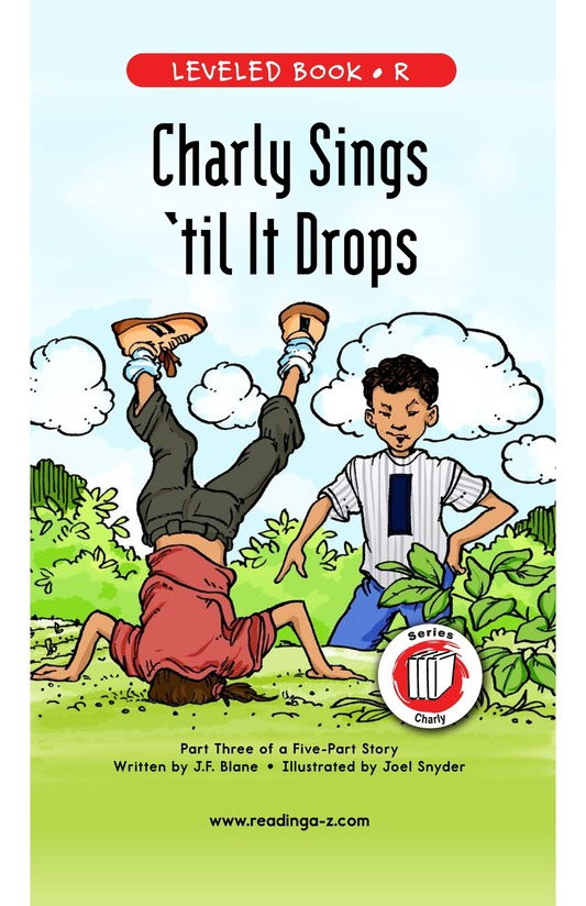 Book Preview For Book 3: Charly Dances 'til It Drops Page 1