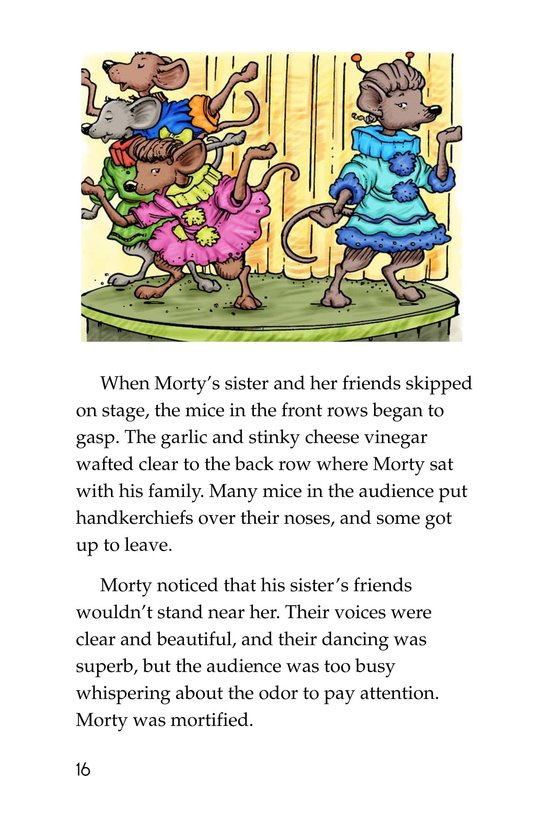 Book Preview For Morty and the Mousetown Talent Show Page 16