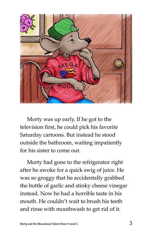 Book Preview For Morty and the Mousetown Talent Show Page 3