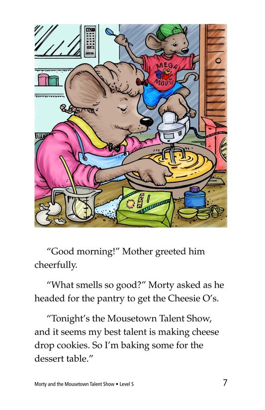 Book Preview For Morty and the Mousetown Talent Show Page 7