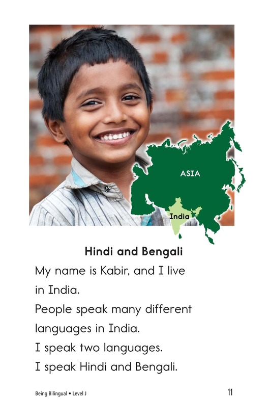 Book Preview For Being Bilingual Page 11