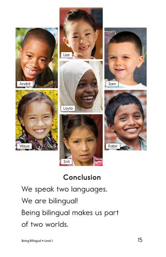 Book Preview For Being Bilingual Page 15