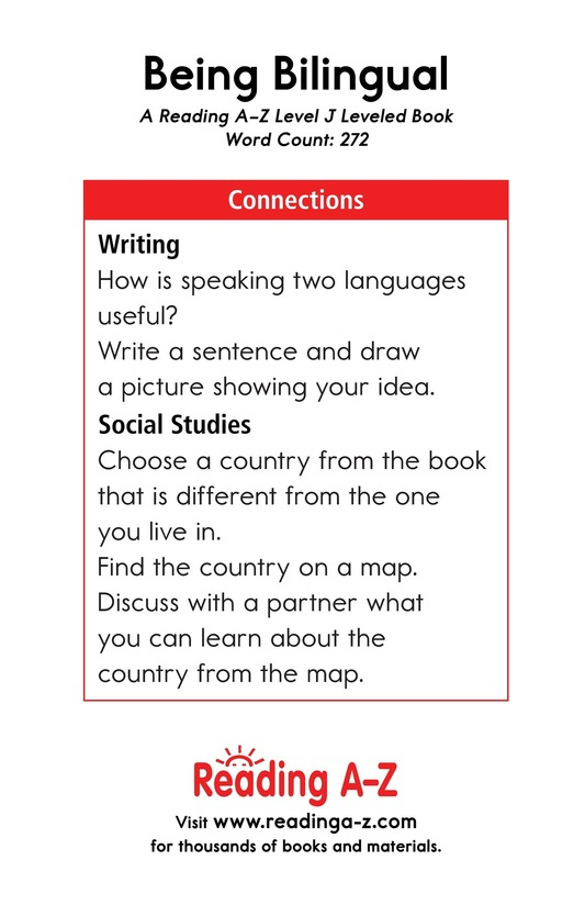 Book Preview For Being Bilingual Page 17