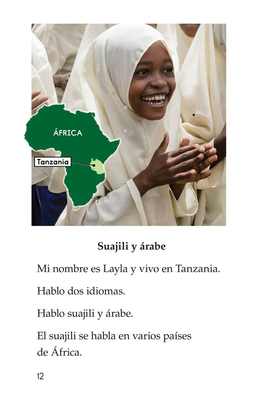 Book Preview For Being Bilingual Page 12