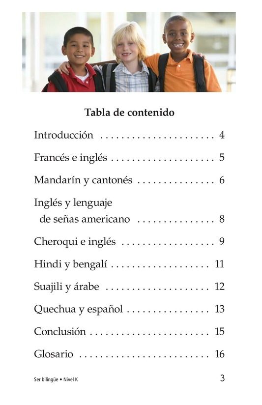 Book Preview For Being Bilingual Page 3