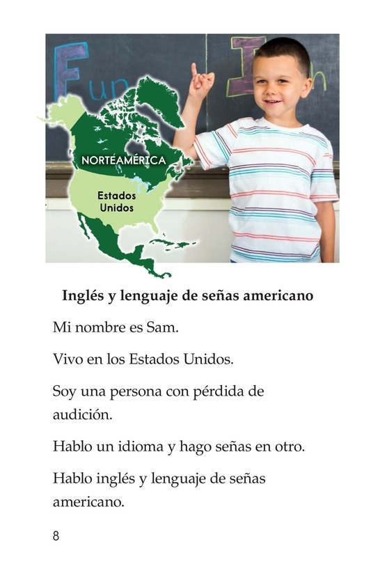 Book Preview For Being Bilingual Page 8