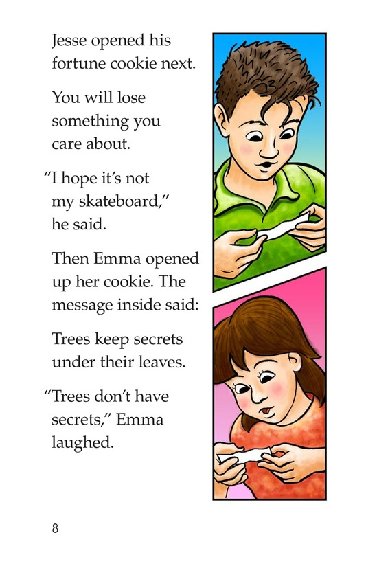 Book Preview For Sparky's Mystery Fortune Page 8