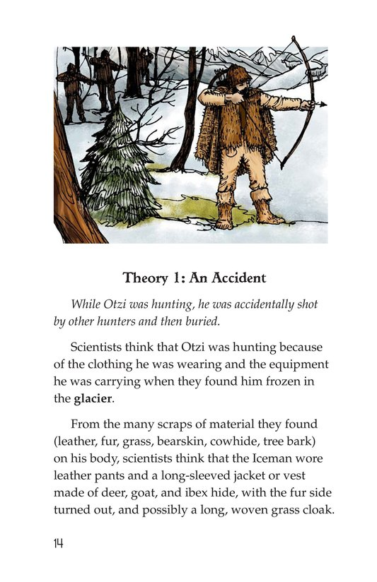 Book Preview For Otzi: The Iceman Page 14